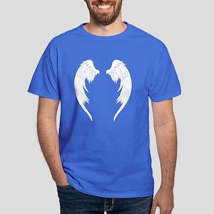 White Angel Wings Dark T-Shirt