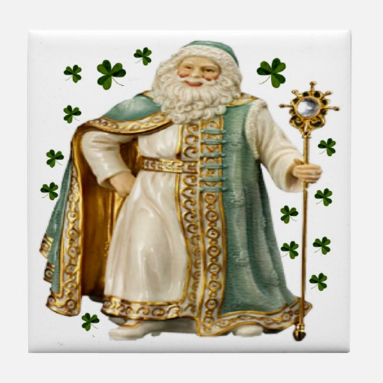 Irish Santa Ceramic Tile