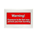 Son Burn Christian Rectangle Magnet