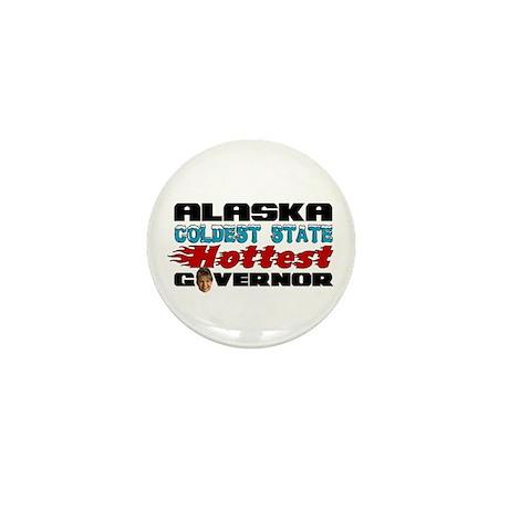 Palin Hottest Governor Mini Button