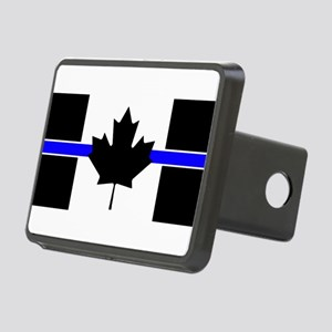 Canadian Police: Thin Blue Line Hitch Cover