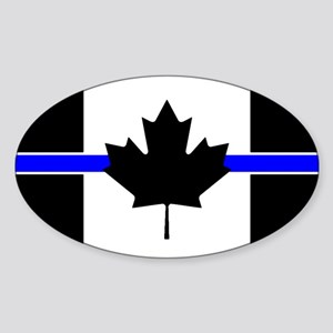 Canadian Police: Thin Blue Line Sticker