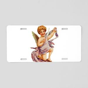 Angel illustration 10 Aluminum License Plate