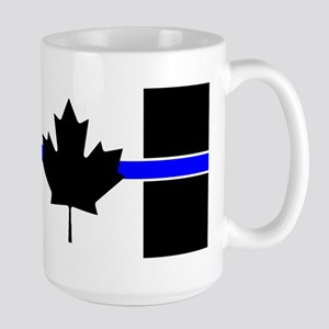 Canadian Police: Thin Blue Line Mugs