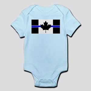 Canadian Police: Thin Blue Line Body Suit