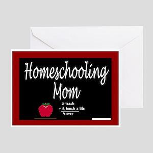Homeschooling Mom Greeting Card