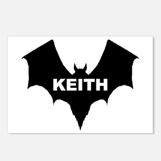 BLACK BAT KEITH Postcards (Package of 8)