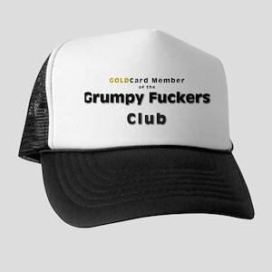 Grumpy Fucker Trucker Hat