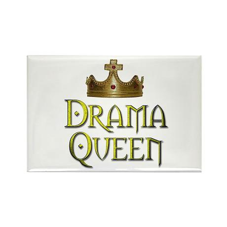 Drama Queen - Rectangle Magnet