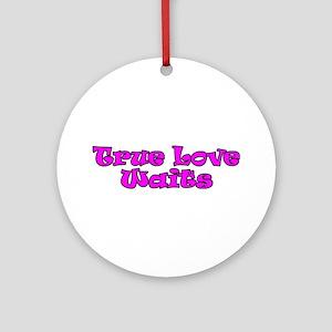 True Love Waits Christian Keepsake (Round)