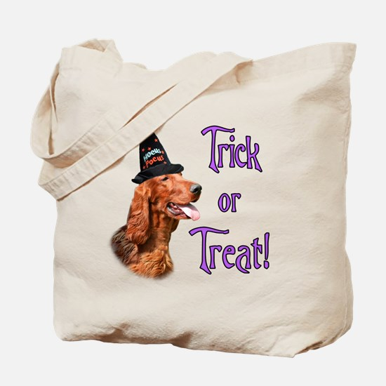 Irish Setter Trick Tote Bag