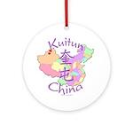 Kuitun China Ornament (Round)