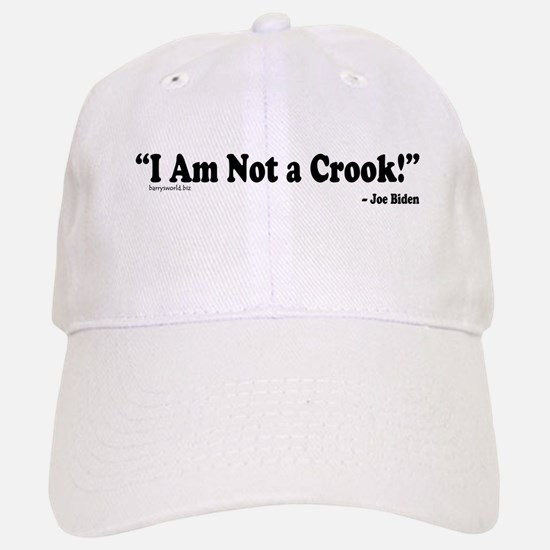 Not a Crook Baseball Baseball Cap