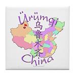 Urumqi China Tile Coaster
