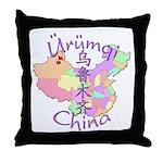 Urumqi China Throw Pillow
