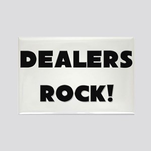 Dealers ROCK Rectangle Magnet