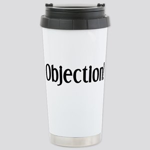 objection 16 oz Stainless Steel Travel Mug