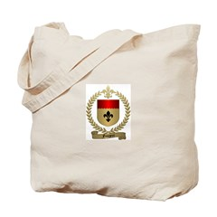 FOUGERE Family Crest Tote Bag