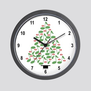 Musical Tree Wall Clock