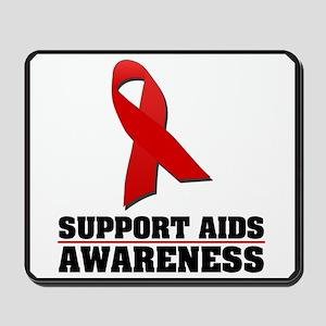 AIDS Awareness Mousepad