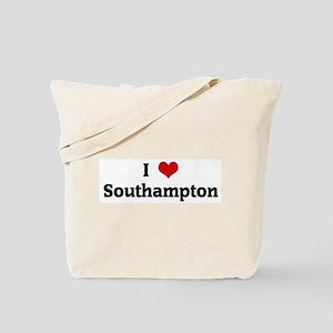 I Love Southampton Tote Bag