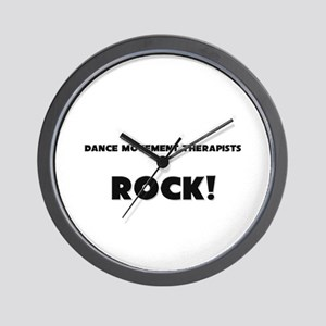 Dance Movement Therapists ROCK Wall Clock