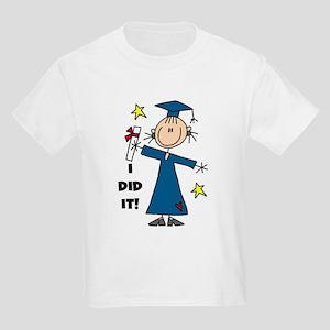 Girl Graduate Kids Light T-Shirt