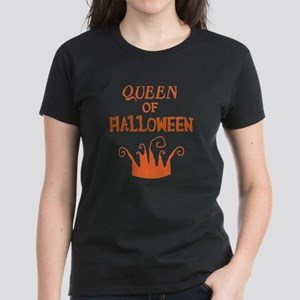 Queen of Halloween Women's Dark T-Shirt