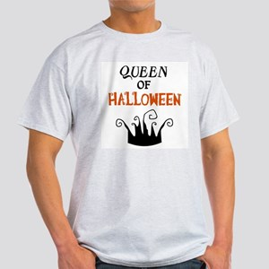 Queen of Halloween Light T-Shirt
