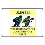 umpire t-shirts presents Banner