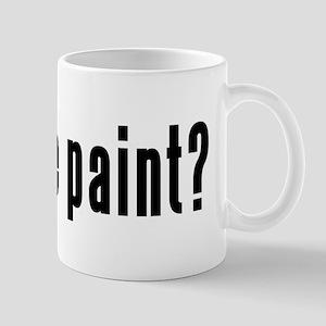 got face paint? Mug