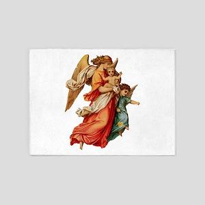 Angel illustration 7 5'x7'Area Rug