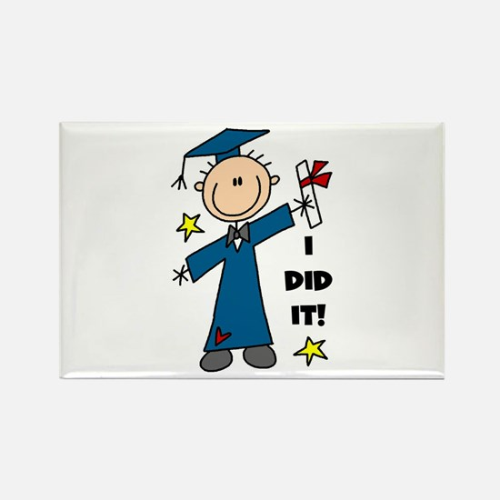 Boy Graduate Rectangle Magnet (100 pack)