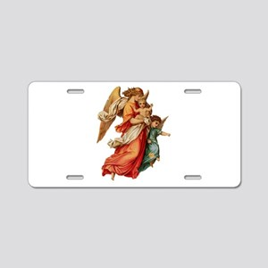 Angel illustration 7 Aluminum License Plate