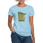 Minnesota State Cornhole Cham Women's Light T-Shir