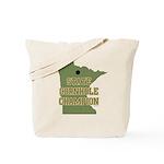 Minnesota State Cornhole Cham Tote Bag