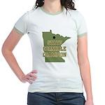 Minnesota State Cornhole Cham Jr. Ringer T-Shirt
