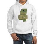 Mississippi State Cornhole Ch Hooded Sweatshirt