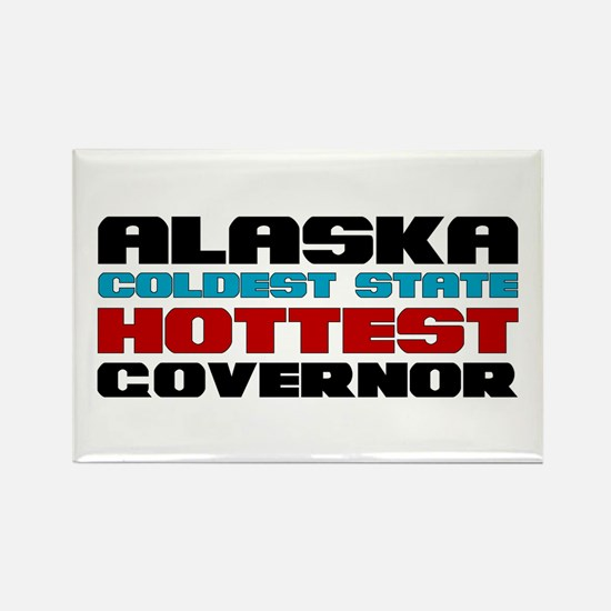 Alaska Governor Rectangle Magnet
