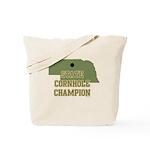Nebraska State Cornhole Champ Tote Bag