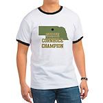 Nebraska State Cornhole Champ Ringer T