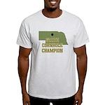 Nebraska State Cornhole Champ Light T-Shirt