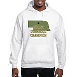Nebraska State Cornhole Champ Hooded Sweatshirt