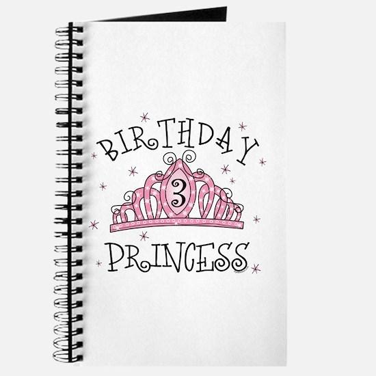 Tiara Birthday Princess 3rd Journal