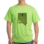 Nevada State Cornhole Champio Green T-Shirt
