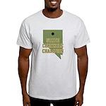 Nevada State Cornhole Champio Light T-Shirt