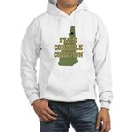 New Hampshire State Cornhole Hooded Sweatshirt