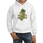 New Jersey State Cornhole Cha Hooded Sweatshirt