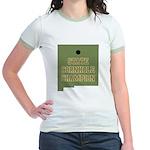 New Mexico State Cornhole Cha Jr. Ringer T-Shirt