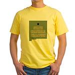 New Mexico State Cornhole Cha Yellow T-Shirt